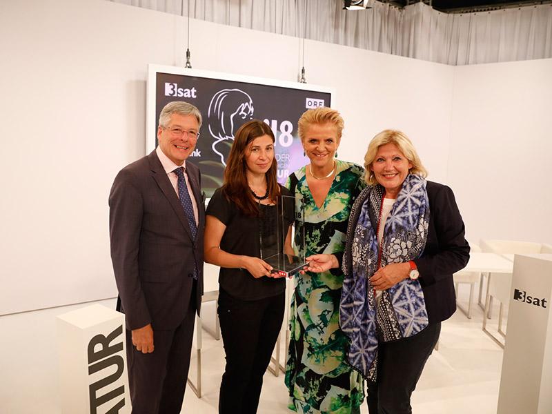 Preisverleihung 2018 Kaiser Maljartschuk Karin Bernhard Mathiaschitz