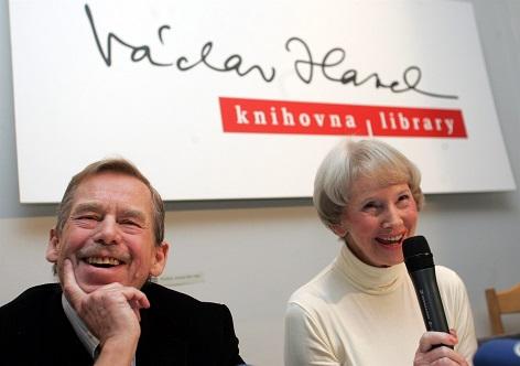 Dagmar Burešová Václav Havel