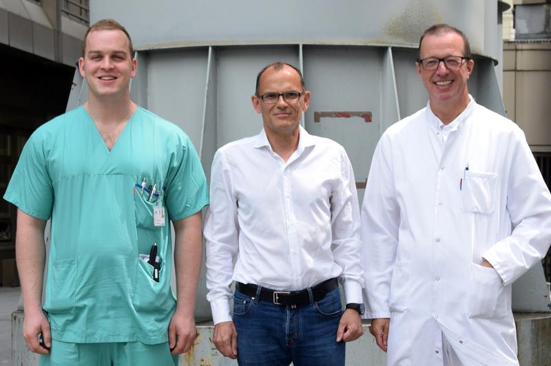 Raimund Pechlaner, Stefan Kiechl und Herbert Tilg
