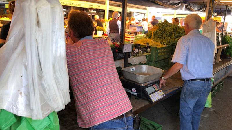 Plastiksackerln Markt Klagenfurt