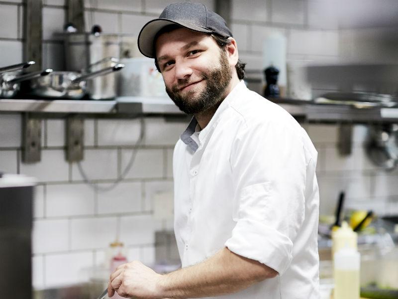 Restaurantleiter Christopher Schramek