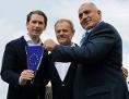 Sebastian Kurz, Donald Tusk, Bojko Borisov - EU