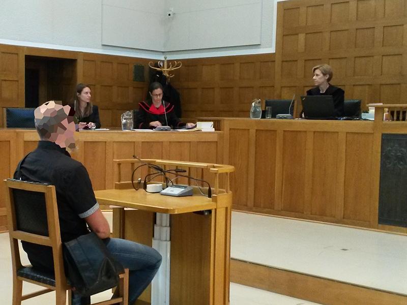 Ex-Soldat vor Gericht