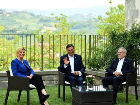 Predsedniki Borut Pahor Kolinda Grabar Kitarović Alexander van der Bellen VdB Brda