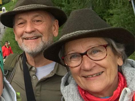 Manfred Polansky und Ehefrau