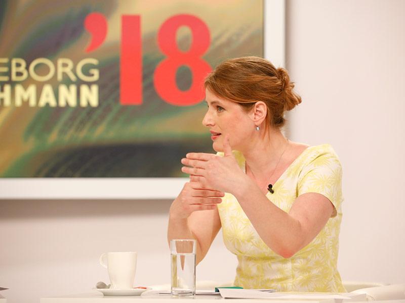 Jury Lesung Edelbauer Insa Wilke
