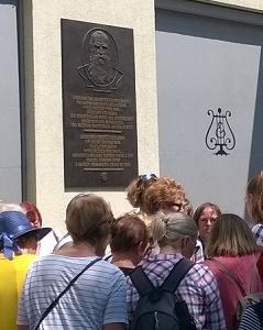 Pamětní deska Josefa Hlávky Opernring 6