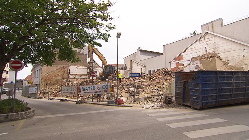Baustelle in Eisenstadt