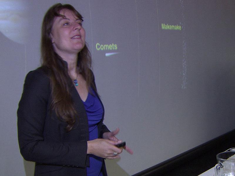 Kaltenegger Vortrag bei Kinderuni