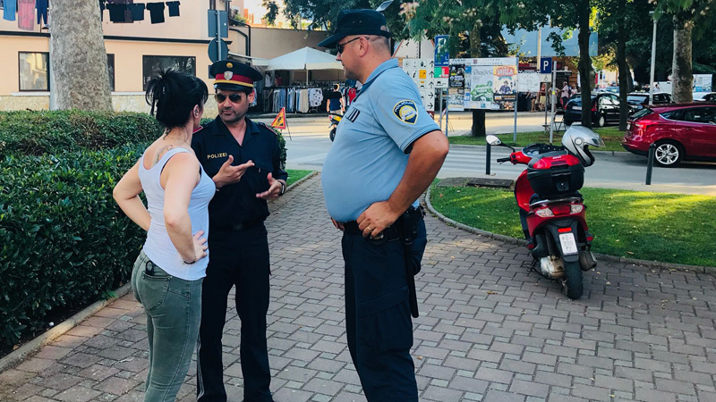 austrijanski policajci u Hrvatskoj Štefan Buzanić