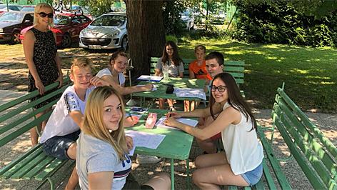 nyári tábor, népfőiskola balaton, népzene, somogyi, gyerekek