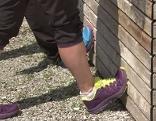 Dehnung von Fuß- und Beinmuskeln