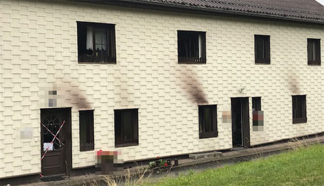 Brandort in Frankenburg