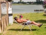 Campingplatz Wohnwagen Urlaub