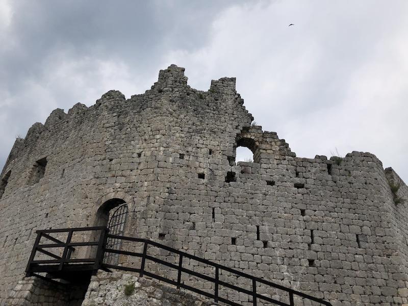 SSC Toppo Castello Ruine