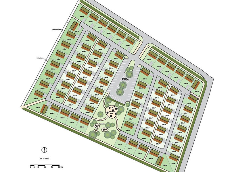 Grafik, Feriensiedlung, Esterhazy