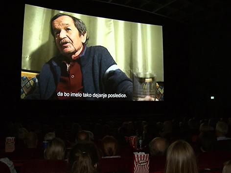 Film Sine legibus predpremiera poročilo Milena Olip