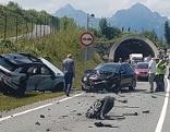 Unfall Fernpassstraße fünf Verletzte