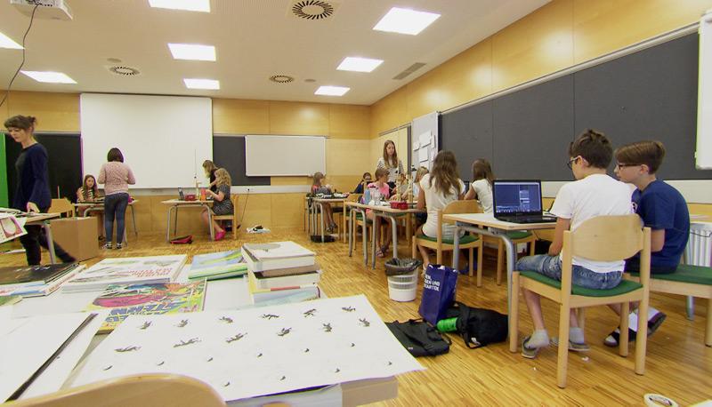 Kurse für hochbegabte Schüler und Schülerinnen