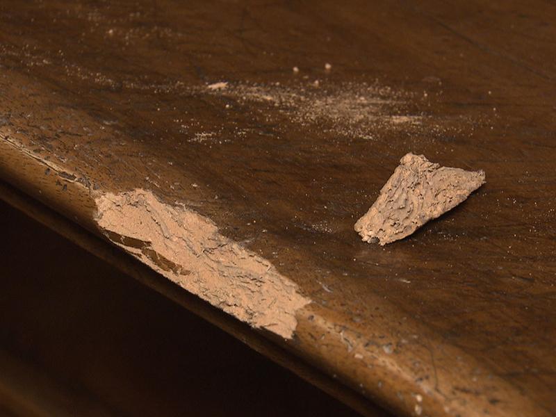 Holzwurm-Befall in Kirchen