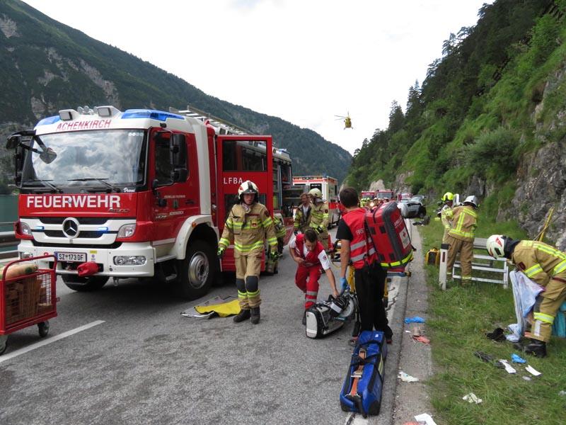 Unfall Tirol