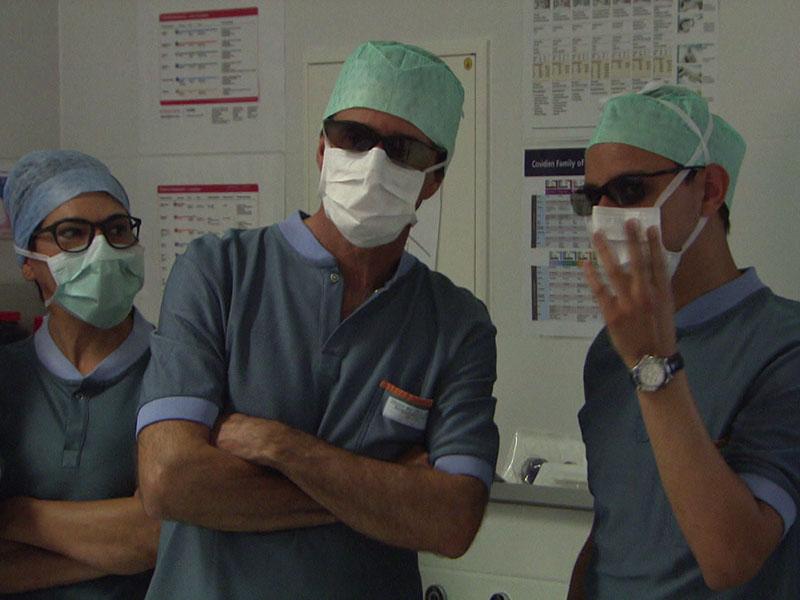 Arabische Ärzte erlernen Adipositas Operationen