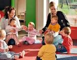 Kinderbetreuung Symbolbild