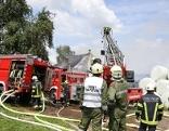 Brand Bauernhof