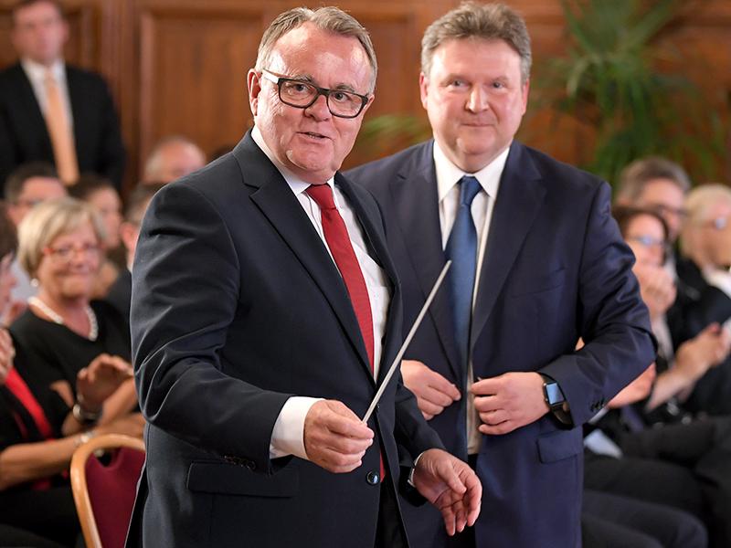 Hans Niessl und Michael Ludwig