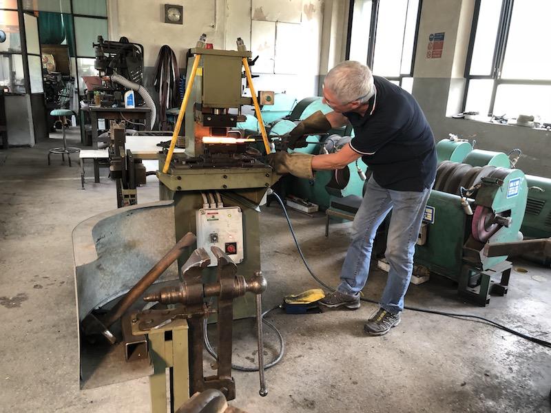 SSC Maniago Dario Di Chiara Messerschleifer Werkstatt