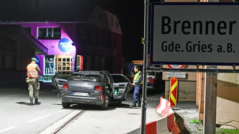 Grenzkontrollen am Brenner