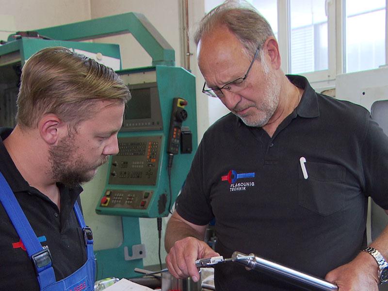 Lehrlinge  Mechatronik Betrieb in Villach