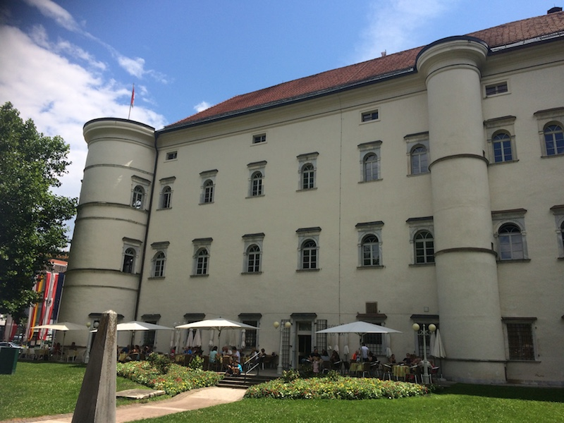 Schloss Porcia Spittal an der Drau außen