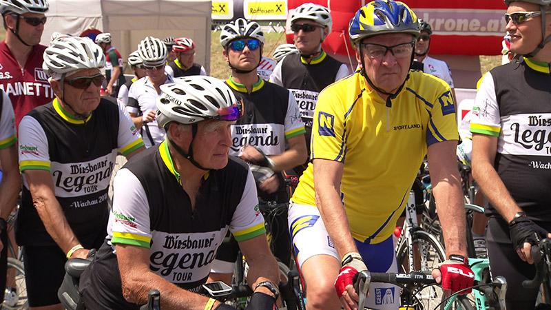 Wachauer Radtage Legendenrennen Pröll Prokop Sturz