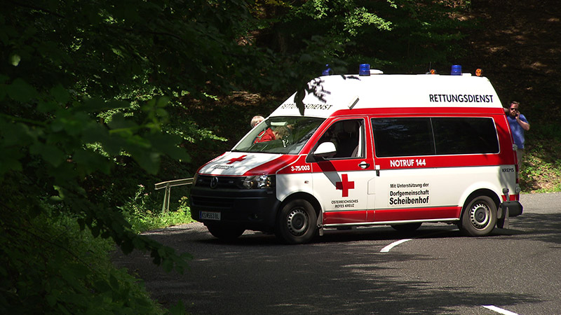 Wachauer Radtage Legendenrennen Pröll Sturz verletzt