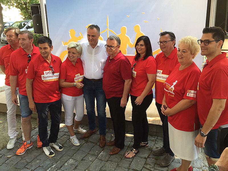 SPÖ Sommertour 2018 Oberwart