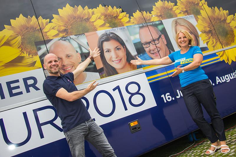Sommertour 2018 mit Birgit Perl und David Pearson