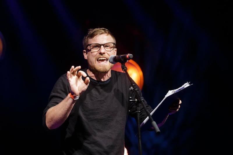 Stefan Abermann Poetry Slam