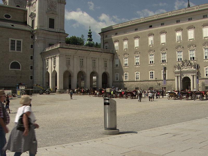 Neues Pflaster Residenzplatz
