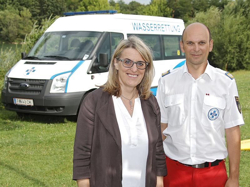 Ulrike Königsberger-Ludwig und Markus Schimböck