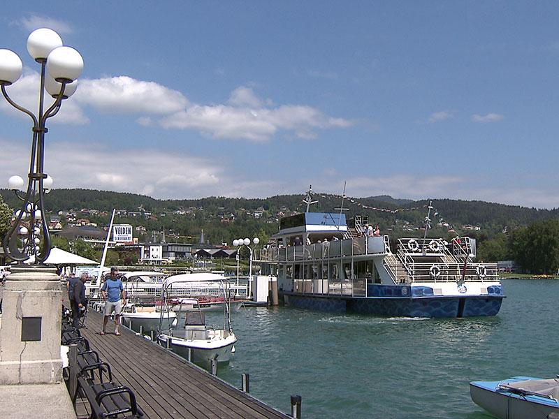 Tourismus Sommer Wörtherseeschifffahrt