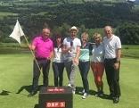 Wolfgang Zanon mit dem Team vom Golfclub Hohe Tauern