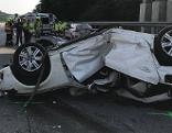 Unfall Westautobahn Pressbaum