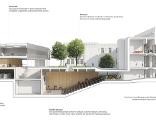 Plan des neuen Anatomie-Instituts am Auenbruggerplatz 25