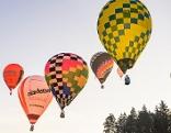 Heißluftballon WM