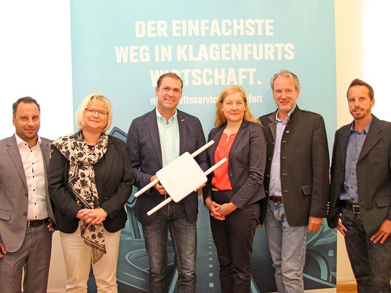 Internet W-Lan Klagenfurt