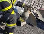 Gasflasche Transporter zerstört Explosion
