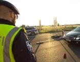 Grenzkontrollen in Nickelsdorf