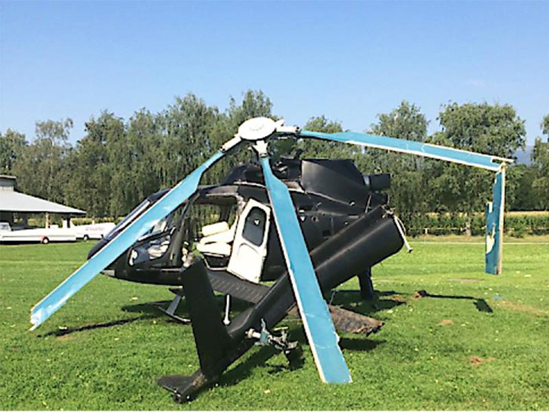 Hubschrauber Absturz Lavanttal