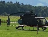 Hubschrauber Absturz St. Marein im Lavanttal